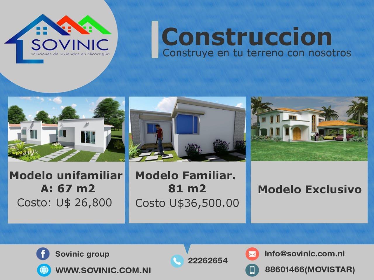 Te construimos tu casa Modelos exclusivos