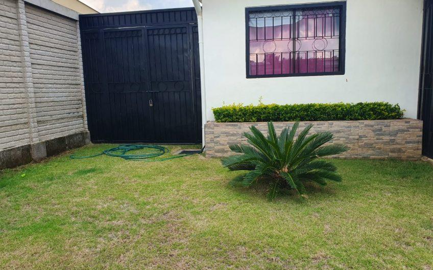 Casa en venta km 13 carretera Masaya Rebajada en 70 mil dólares