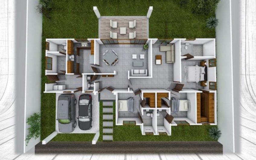 Casas nuevas en condominio entrada a santo domingo