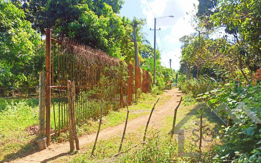 Terreno en km 13 carretera Masaya media manzana